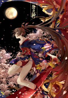 妖刀姬 | 东方落玉 - 原创作品 - 涂鸦王国 Epic Art, Character Design, Character Art, Character Inspiration, Samurai Anime, Beautiful Fantasy Art, Anime, Anime Drawings, Cool Drawings