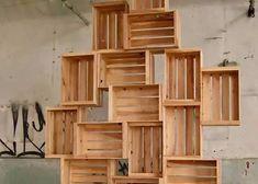 деревянный стеллаж из ящиков: 8 тыс изображений найдено в Яндекс.Картинках