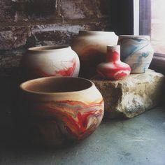 Kinda got into Nemadji pottery last weekend… by readysetinternet on Flickr.