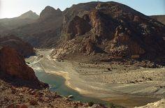 Ziz river in Tafilalet