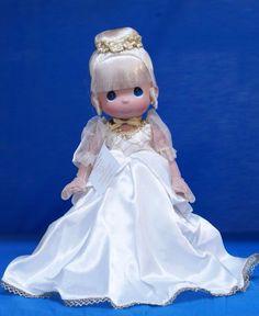 Disney D23 2015 Precious Moments Doll Cinderella Signed Linda Rick 5891 #PreciousMoments #VinylDolls