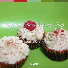 Soap by Sheloves Soap, Cupcakes, Desserts, Tailgate Desserts, Cupcake, Deserts, Dessert, Postres, Cupcake Cakes