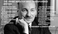 Nationalisation was an election commitment of Clement Attlee, the Labour leader, in the build up to the July 1945 election. Nationalisation meant that if Labour won the General Election There would be BIG changes in the way the country was run. They won & the new Labour Government took over control of the main industries (coal, steel, electricity, rail etc) and any profit made went to the country and NOT to share holders.