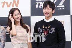 """160920 Yoona & Ji ChangWook - """"더 케이투/THE K2"""" Press Conference"""