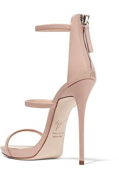Giuseppe Zanotti - Harmony Patent-leather Sandals - Blush - IT