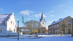 I remember going to that church once in Varde. Varde Denmark in Winter