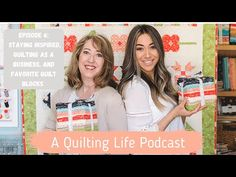 Episode 6: Staying Inspired, Quilting as a Business, and Favorite Quilt Blocks - YouTube Stripe Quilt Pattern, Striped Quilt, Episode 5, Quilting Tips, Life Planner, Projects For Kids, Sewing Tutorials, Fabric Design, How To Plan