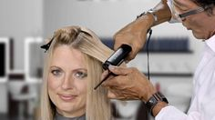 How to flat iron wavy hair, avoid damage, and create a sleek straight or...