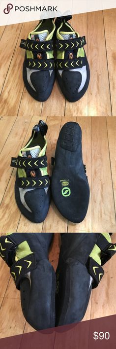 Scarpa Vapor Climbing Shoes NWOT! Fresh edges and no funky smell.  These shoes have tons of grip for your next climb. Scarpa Shoes Athletic Shoes