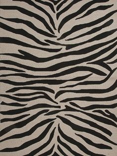 Jaipur Rug - Party Lines Ivory/Black - $66.00 Per Rug #men #manly #masculine #decor #home #interiors #fathersday #cave #mancave #design #inspiration #ideas #trend #style #2014 #animal #print #zebra #faux #living #room #bedroom #black #white