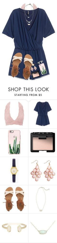 """some people are worth melting for"" by evedriggers ❤ liked on Polyvore featuring Charlotte Russe, H&M, Casetify, NARS Cosmetics, Kate Spade, Billabong and Kendra Scott"