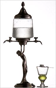 Absinthe Fountain, because every house should have one, if only for absinthe loving guests ;)