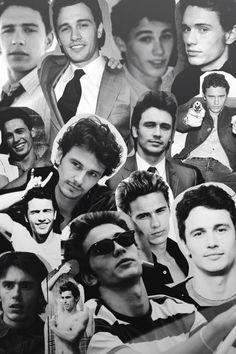 James Franco collage. Love.