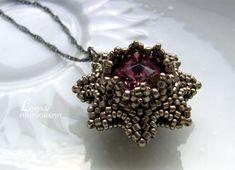 beaded pendant Stars in the sky -  von trytobe
