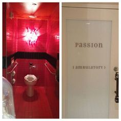 The Muse hotel's public bathroom has stalls and theyre all named... I went into the passion one and this is what it looked like. Freaking amazing and beautiful!!! #beautiful #bathroom #beautifulbathroom #fancy #sofancy #thecity #hotel #hotelbathroom by missitaliantiffygirl Bathroom remodeling ideas.