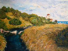ARROYO LA TIGRA Painting, Art, Paintings, Painting Art, Kunst, Paint, Draw, Art Education, Artworks