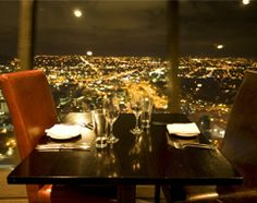 For food lovers dine at Orbit Restaurant in Auckland.  Great food and amazing views!