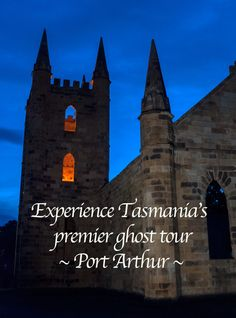 Arguably the most haunted place in Australia, Tasmania's World Heritage convict settlement Port Arthur harbours some grim history and an interesting ghost tour at night.