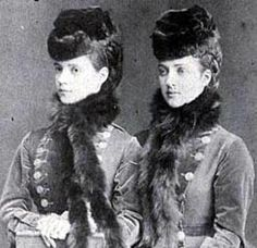 Sisters, before they were Empress Marie Feodorovna and Queen Alexandra.