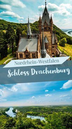 Ausflugsziele – Burg Drachenfels und Schloss Drachenburg Drachenfels Castle and Drachenburg Castle near Königswinter – two excursion destinations in North Rhine-Westphalia. Places To Travel, Travel Destinations, Places To Visit, Most Beautiful Pictures, Beautiful Places, Bmw Autos, North Rhine Westphalia, Travel Guide, Travel Hacks