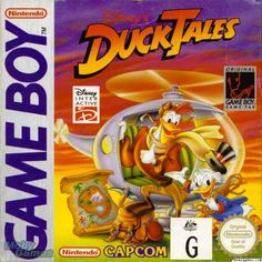 Game Boy Games - Duck Tales