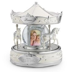 Grande Carousel Water Globe at Things Remembered