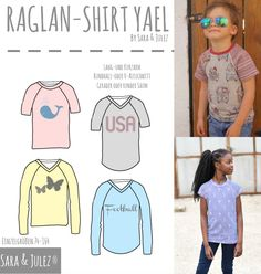 BASIC RAGLAN-SHIRT Y