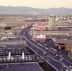 Picture Taken from the Dunes of the Las Vegas Strip  www.all-chips.com has chips from all these Casinos for sale.