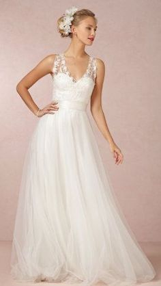Gorgeous and ethereal wedding gown!