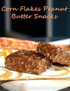 Corn Flakes Peanut Butter Snacks Recipe