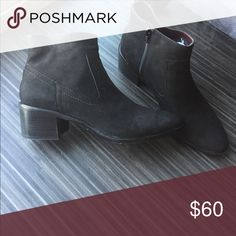 BRAND NEW!!! BCBG Allegro suede black booties Black almond toe suede ankle boot BCBGeneration Shoes Ankle Boots & Booties