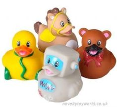 Wholesale | Novelty Traditional Old School Toy Rubber Ducks (5cm)