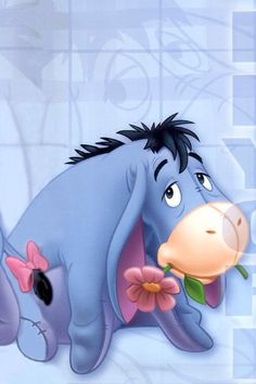 EEYORE, IPHONE WALLPAPER BACKGROUND