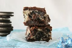 Cookies & Cream Cheese Brownies