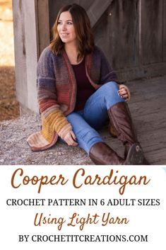 Crochet Cardigan pat