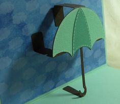 Umbrella Everyday Pop-Up Card with Video