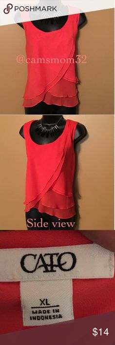 Amazing Cato top Great condition. Size XL. Bundle and save more.  Thanks for checking out this listing😍 Cato Tops Blouses