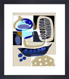 Malaga by Gillian Martin - art print from King