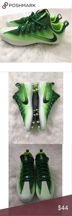Nike Mens Vapor Untouchable Pro Football Cleats 13 Nike Mens Vapor Untouchable Pro Football Cleats Green White (833385-301) SZ 13 100% Authentic   please see pictures for full details  ships fast and safe! nike Shoes Boat Shoes