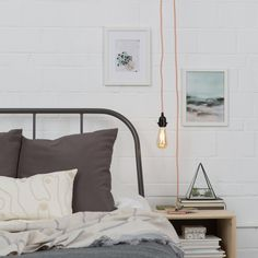 Item no. CS-002-227 - Plug-in pendant light cord set - UL listed File No. E365544. - Overall Length: 15', with 2' between plug and switch - Threaded ring to hold shades Maximum of 60W bulb (not includ
