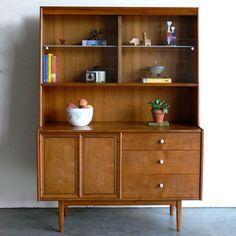 Mid Century Modern Hutch I, $800, now featured on Fab.