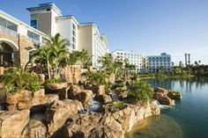 At Loews Sapphire Falls Resort there is no shortage of fun once the adventures in the parks end. Blissful hours will be spent at the 16,000 square foot pool with two sand areas, a children's play area with pop-up jets, huge hot tub and a water slide. There's also a game room, fitness center and much more.