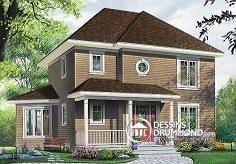 Plan de maison no. W2747 de DessinsDrummond.com