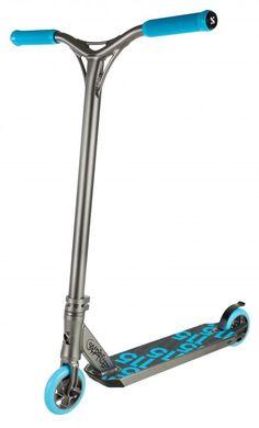 Sacrifice Flyte 115 Titanium - Aqua Stunt Scooter