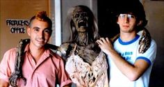 Brian Peck and Tony Gardner