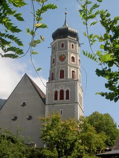 Bludenz, Kirche Hl. Laurentius Vorarlberg AUT