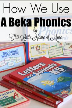 How We Use A Beka Phonics - This Little Home of Mine