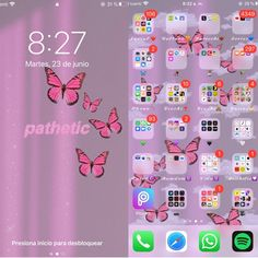 Iphone Home Screen Layout, Iphone App Layout, Iphone Hacks, Iphone 10, Organize Phone Apps, Supreme Iphone Wallpaper, Cute Emoji Wallpaper, Iphone Design, Iphone Wallpaper Tumblr Aesthetic