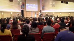 After sharing at New Life Church yesterday, I went to minister at Taipei Truth Church!