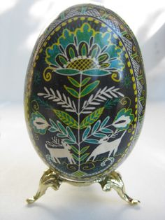 goose egg pysanky - Google Search